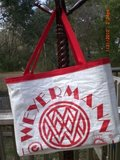 Up-cycled Material Totes Made in Florida in Eglin AFB, Florida