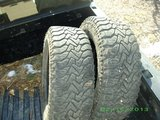 Set of 2: LT265/70R17 Traction tires in Fort Carson, Colorado