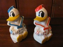 Vintage Disney Donald Duck Salt and Pepper Shakers in Kingwood, Texas