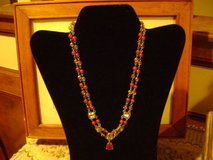 Antique-Look Double-Strand Gemstones Necklace - Gorgeous in Kingwood, Texas