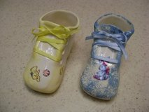 Handpainted Ceramic Baby Shoes in Kingwood, Texas