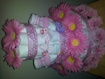 Awesome Diaper Cake for For baby Girl in Quantico, Virginia