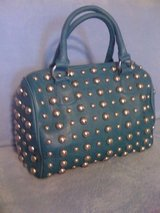 New,Gorgeous,Teal Leather&Studs Purse in Fort Polk, Louisiana