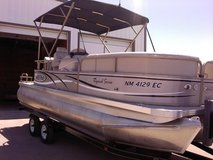 Boat  - 21' Special Edition Aloha Tri-toon in Alamogordo, New Mexico